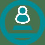 Career guidance pyramid icon