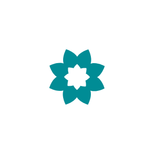 Support flower icon
